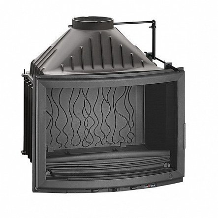 Топка Invicta Hearth 700 Panoramic with flue valve (2018)