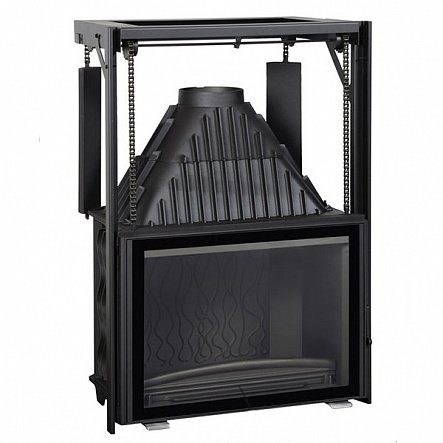 Топка Invicta Hearth 800 Large Angle with lifting door