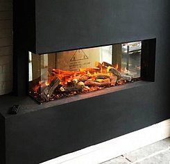 New forest electric fire 1200mm (угловой R)