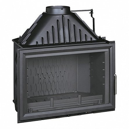 Топка Invicta Hearth 800 Wide Vision with flue valve (2018)