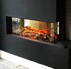 New forest electric fire 1200mm (угловой L)