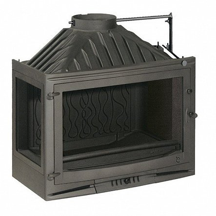 Топка Invicta Hearth 700 Sélénic left glass with flue valve