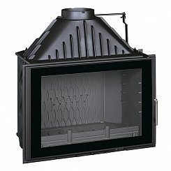 Invicta Hearth 800 Large Angle with flue valve (2018)