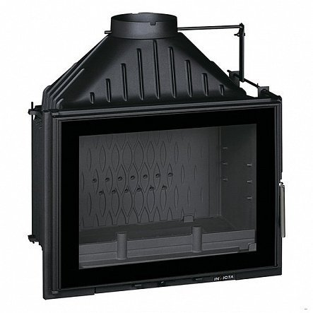 Топка Invicta Hearth 700 Large Angle with flue valve (2018)
